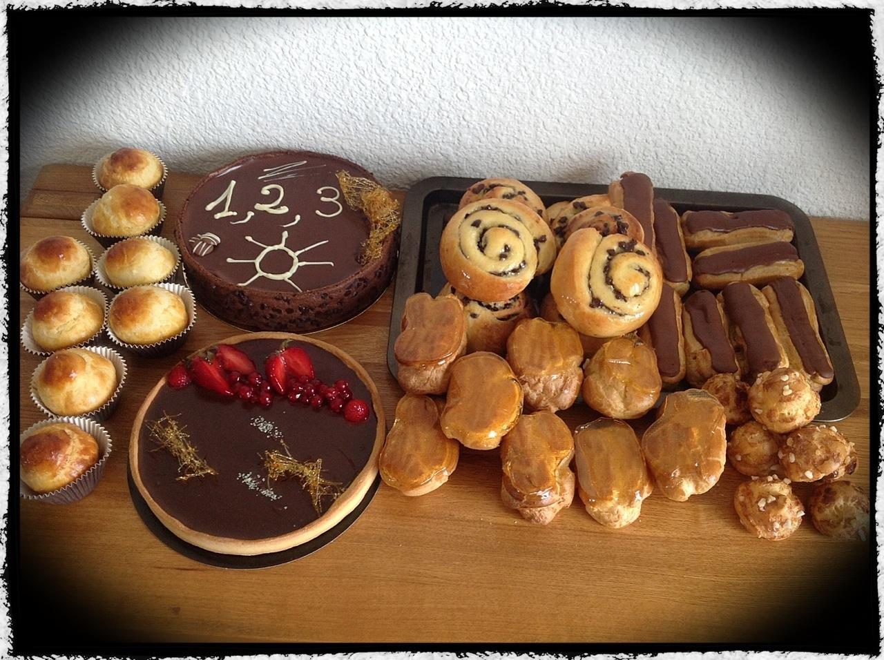 préparatif au cap avec la sucrière cours de pâtisserie sur Bordeaux