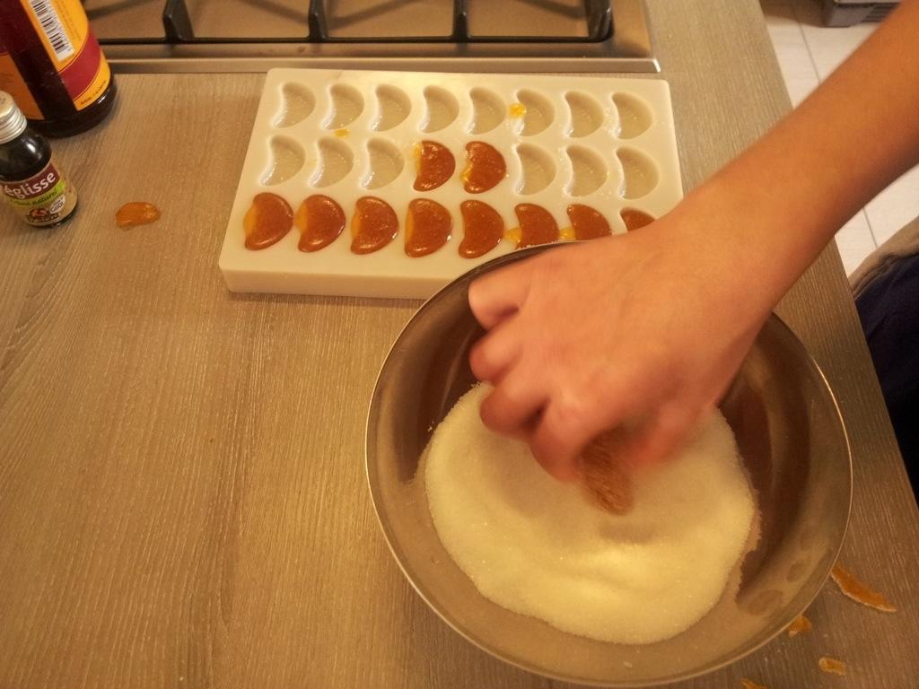 préparation pâte de fruits aux abricots dans nos cours privé à domicile sur Bordeaux