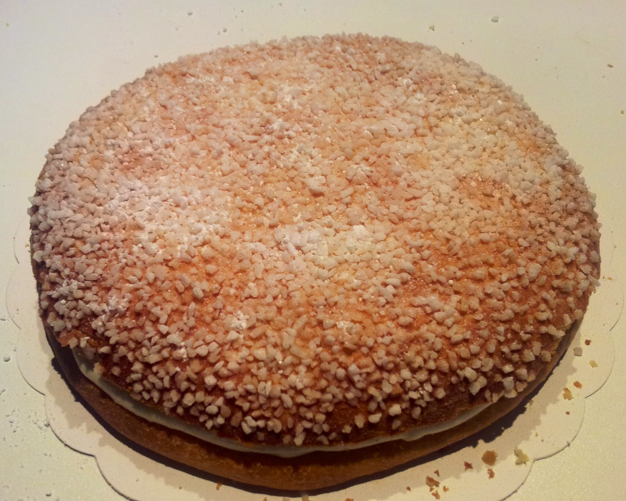 Tropézienne recette originale la sucrière