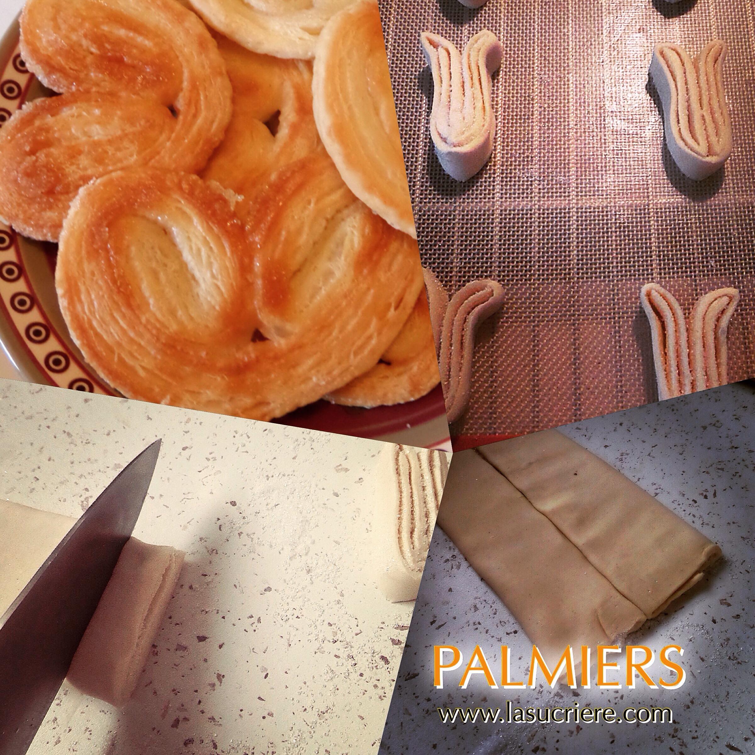 palmiers cours de pâtisserie gironde