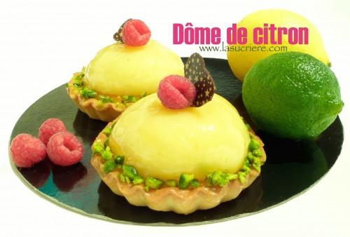 Dôme de citron cours et formation en pâtisserie