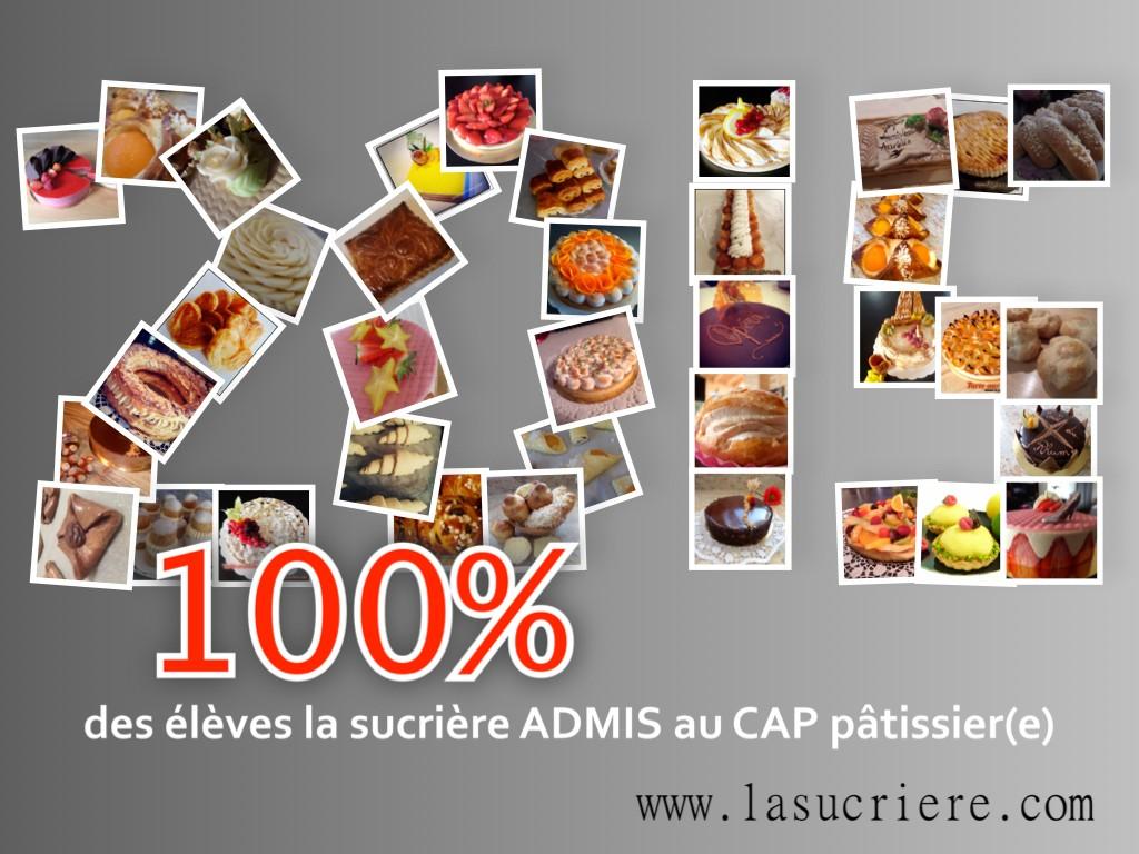 CAP pâtissier liste ADMIS(E) secteur Bordeaux