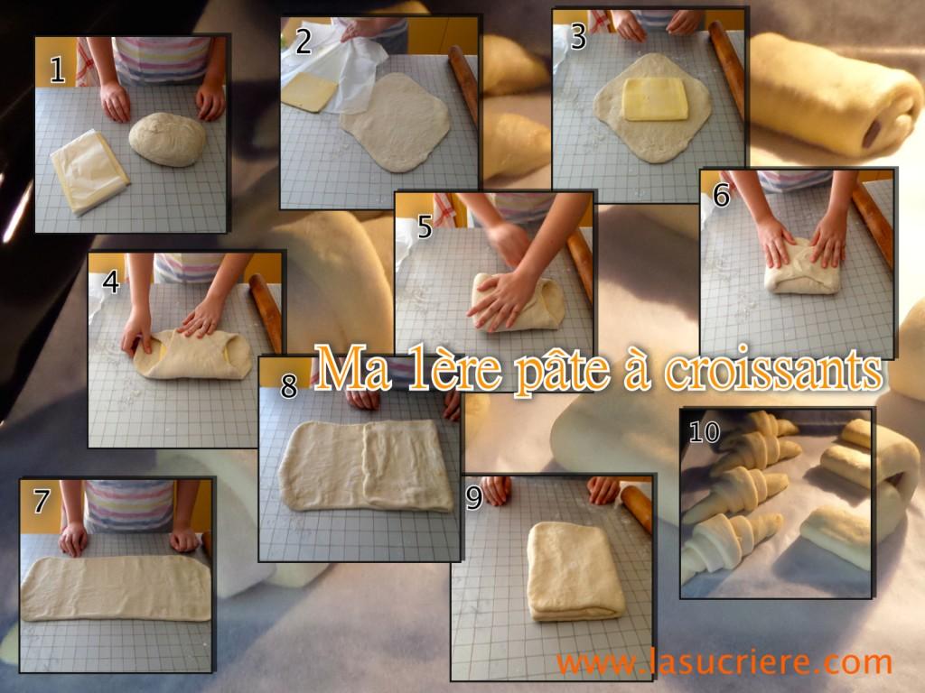 Ma 1ère pâte à croissants formation CAP pâtisserie