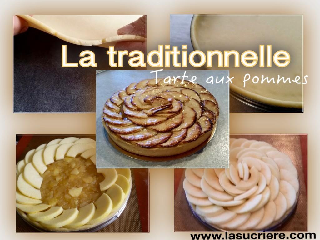 La traditionnelle tarte aux pommes formation la sucrière Bordeaux