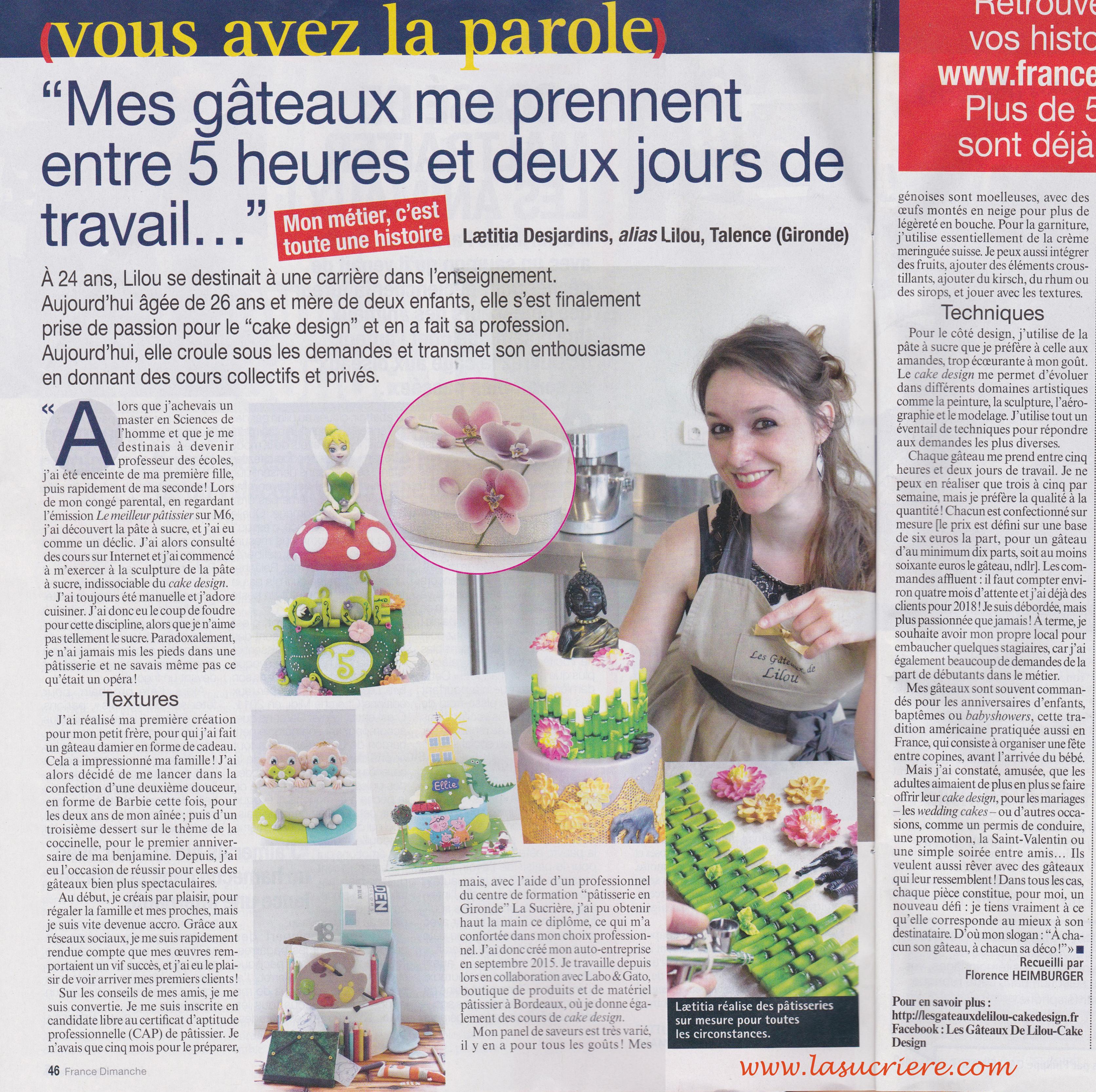 A découvrir dans votre magazine France Dimanche