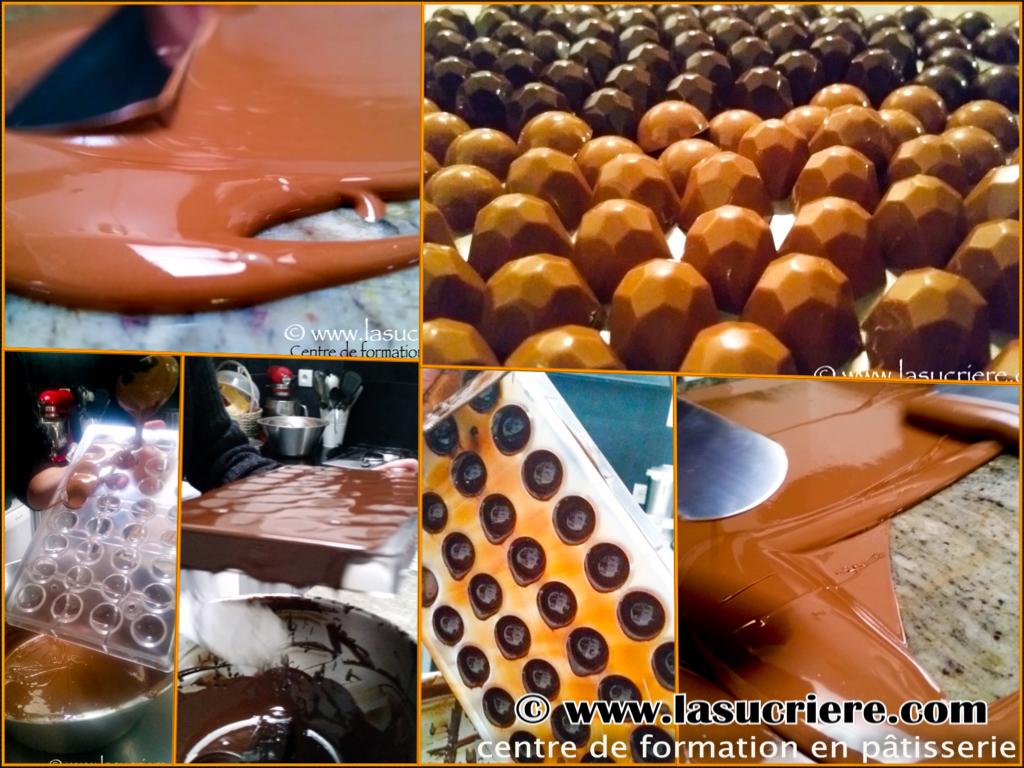 Atelier bonbons chocolats