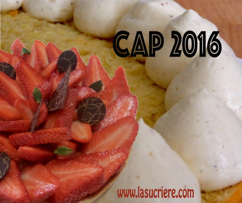 CAP pâtisserie 2016, un grand Cru sur Bordeaux