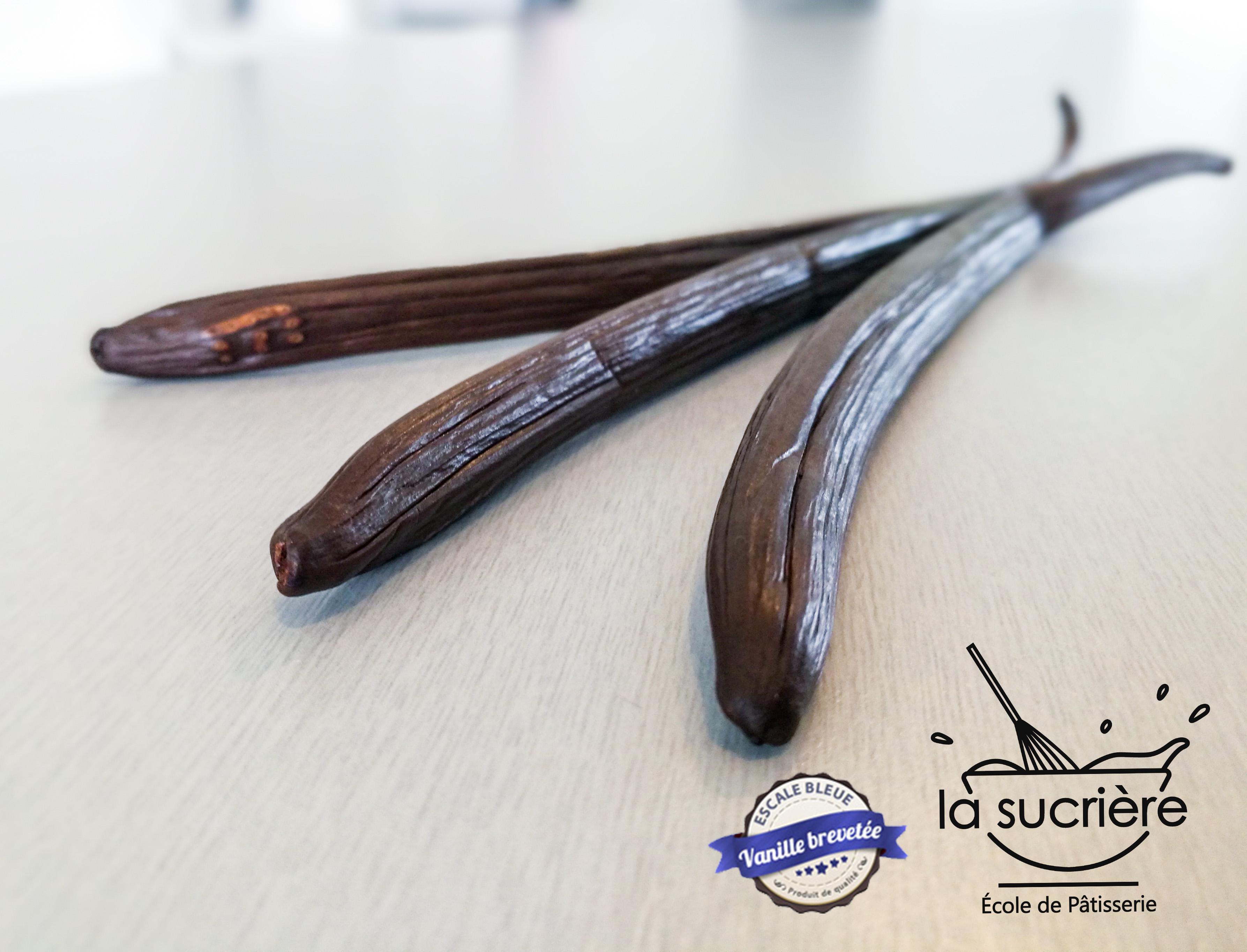 Vanille Bleue 100% comestible 100% exceptionnelle - école de pâtisserie La Sucrière