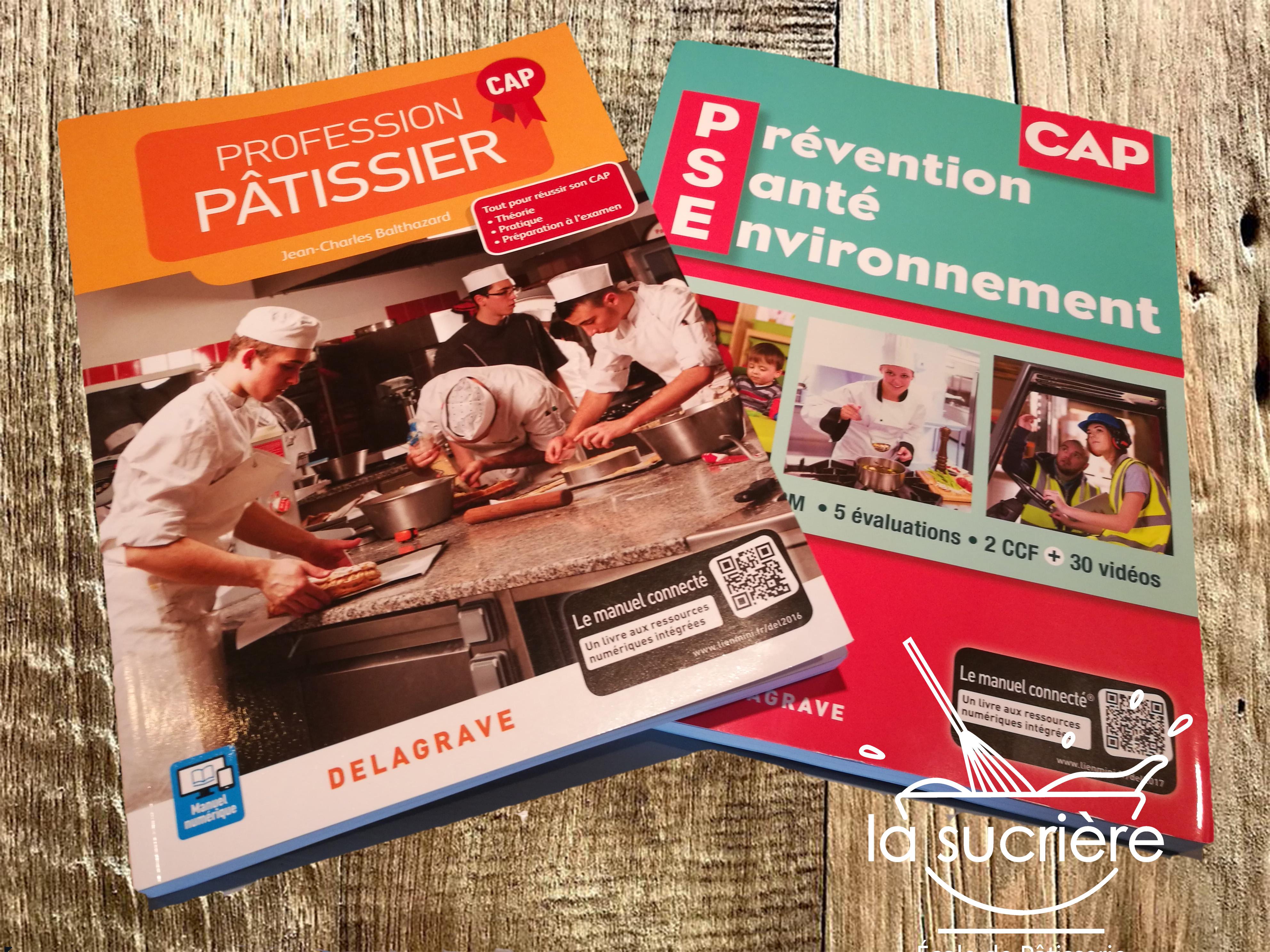 Nouveaux ouvrages - Programme CAP pâtissier